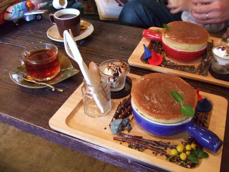 ぐりとぐらのパンケーキ/2008年2月