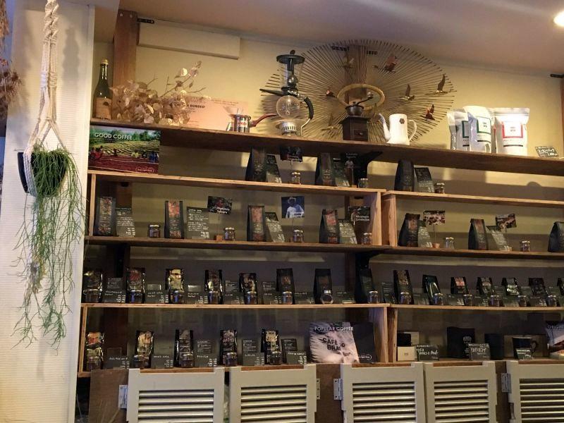 SANWA COFFEE WORKS店内