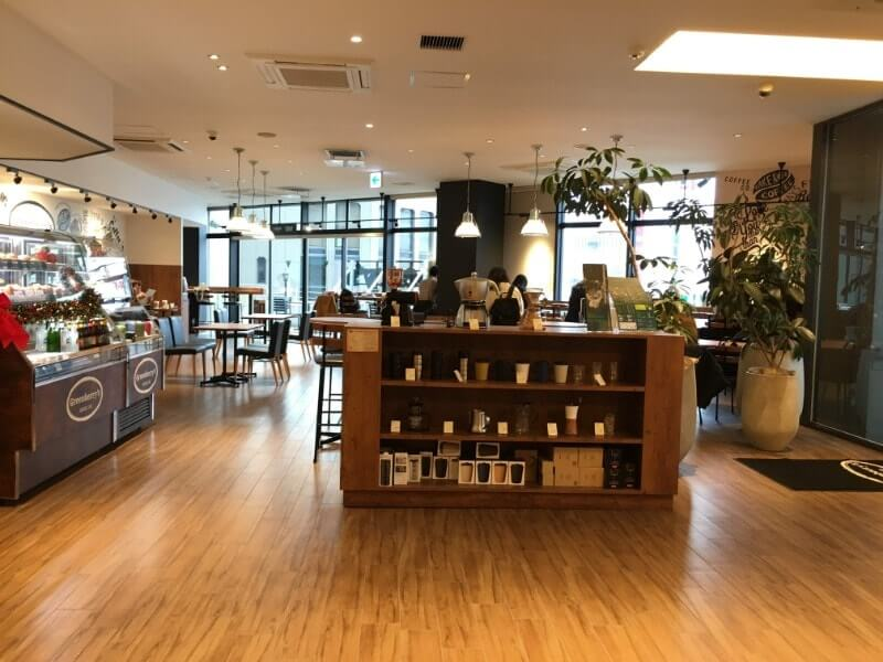 Greenberry's Coffee|店内